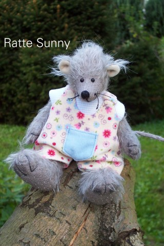 Bastelpackung Ratte Sunny